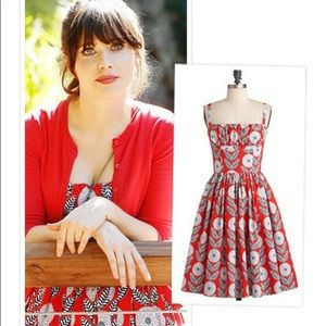 bernie dexter chrysanthemum dress xs